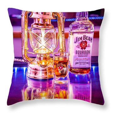 Bar Time Throw Pillow