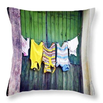 Baracoa Door 3 Throw Pillow