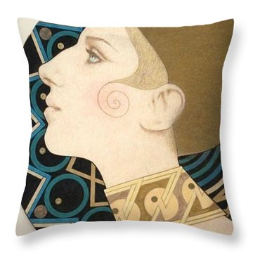 Barbra Throw Pillow
