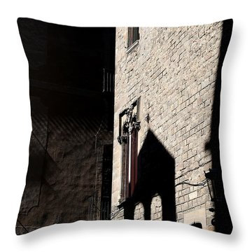 Throw Pillow featuring the photograph Barcelona 2 by Andrew Fare