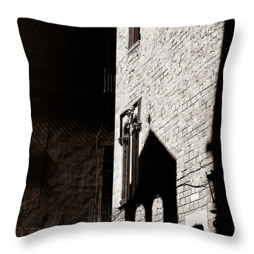 Throw Pillow featuring the photograph Barcelona 2b by Andrew Fare