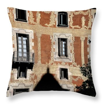 Throw Pillow featuring the photograph Barcelona 3 by Andrew Fare