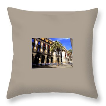 Barcelona Throw Pillow