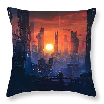 Future Throw Pillows