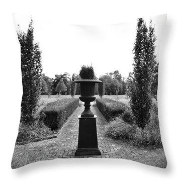 Bardstown Garden  Throw Pillow