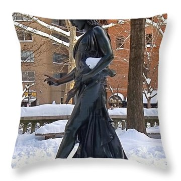 Barefoot In The Park Throw Pillow