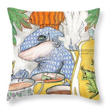 Barista Throw Pillow