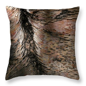 Bark At Woodstream Village Throw Pillow