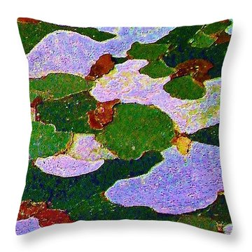 Throw Pillow featuring the photograph Bark by Daniel Thompson