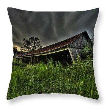 Barn Storm Throw Pillow