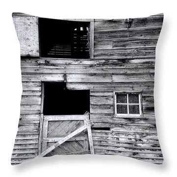 Barn Texture Throw Pillow