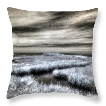 Barnegat Bay New Jersey Throw Pillow
