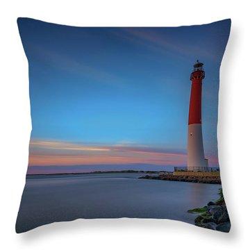 Barnegat Inlet Throw Pillow
