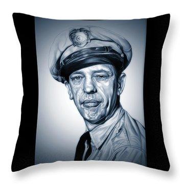 Barney Fife Throw Pillow