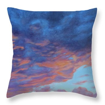 Barnsdall Hill Throw Pillow by Andrew Danielsen