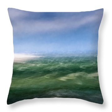 Barnstable Harbor 4 Throw Pillow