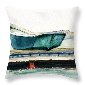 Barnstable Skiff Throw Pillow