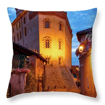 Throw Pillow featuring the photograph Barolo Morning by Brian Jannsen