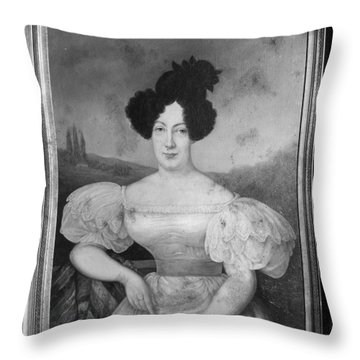 Baroness De Pontalba Throw Pillow