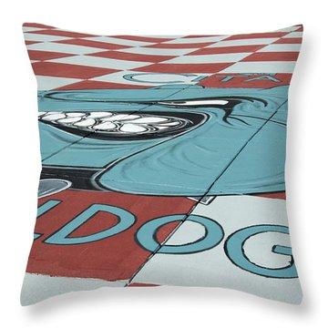 Barracks Bulldog Throw Pillow