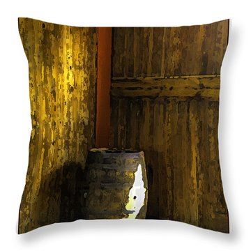 Barrel Throw Pillow