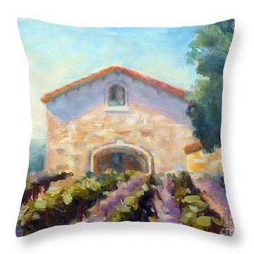 Barrel Room Throw Pillow