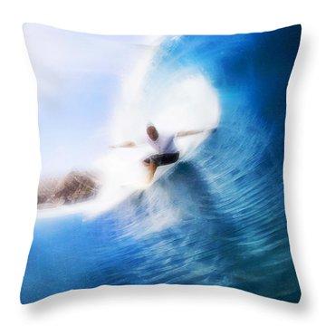Barrels Of Fun Throw Pillow