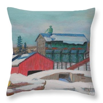 Barrett's Mill Throw Pillow
