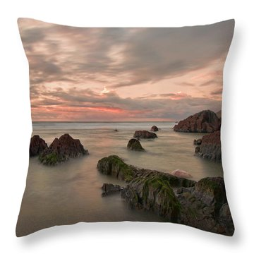 Barricane Beach Throw Pillow