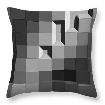 Barrier Throw Pillow