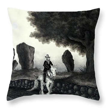 Barry Of Thierna Throw Pillow