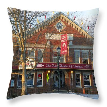 Barter Theatre Throw Pillow by Karen Wiles