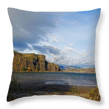 Basalt Throw Pillow