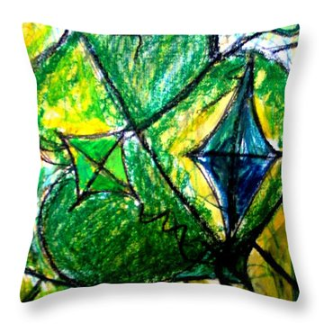 Basant  Throw Pillow