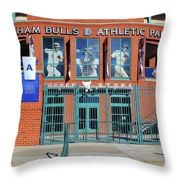 Baseball Stadium Throw Pillow