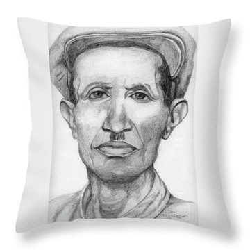 Bashi Throw Pillow