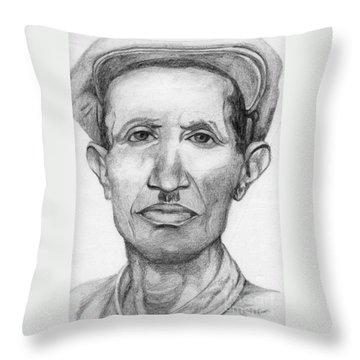 Bashi Throw Pillow by Annemeet Hasidi- van der Leij