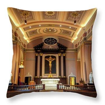 Basilica Of Saint Louis, King Of France Throw Pillow