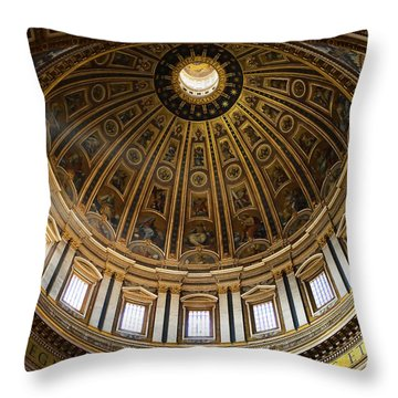 Throw Pillow featuring the photograph Basilica by Stefan Nielsen