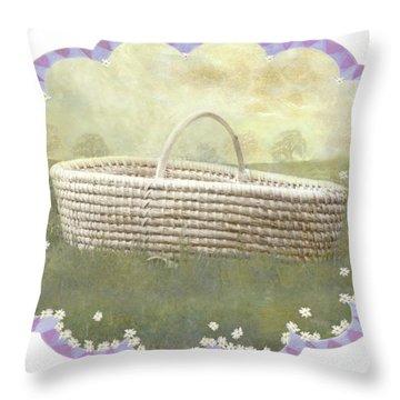 Basket Throw Pillow
