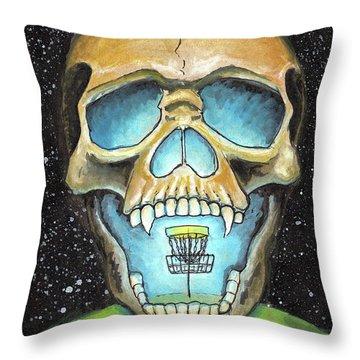 Basket Reaper Throw Pillow