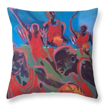 Basketball Soul Throw Pillow