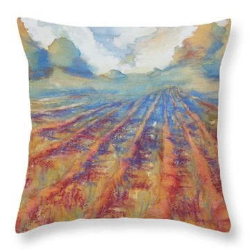 Basking Throw Pillow