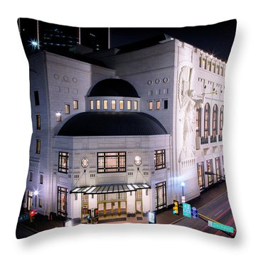 Bass Hall Resplendence Throw Pillow