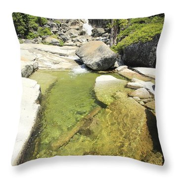 Throw Pillow featuring the photograph Bassi Bliss by Sean Sarsfield