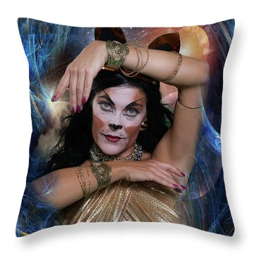 Bast Throw Pillow