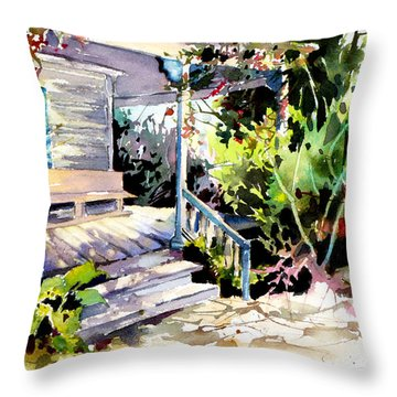 Bastrop Welcome Throw Pillow