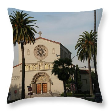 Bathing In Glory Throw Pillow