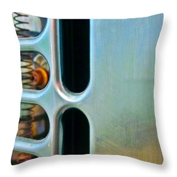 Bathroom Heat Throw Pillow by Gwyn Newcombe