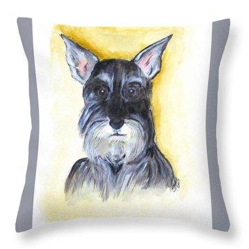 Batman Bouser Throw Pillow